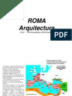 Arquitectura Romana 2012