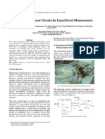 capacitive tranduser circuits for liquid level meansurement