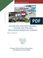 Bab IV Politik Dan Strategi Nasional e2809c Politik Dan Strategi Pertahanan Keamanan Nasional1