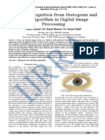 Feature Recognition From Histogram and Eigen Algorithm in Digital Image ProcessingIJRRA-01!02!25