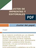 CLUSTERS de Imprentas y Editoriales