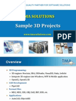 Sample 3D Projects_TMA Solutions