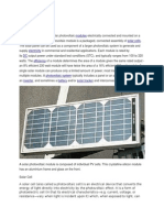 Solar panel Introduction
