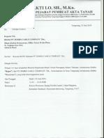 Laporan Hasil RUPS JECC - 23 Juni 2014