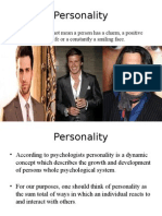 personality and organizational behavior