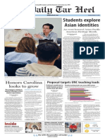 The Daily Tar Heel for March 31, 2015