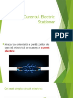 Curentul Electric Stationar