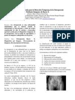 Herramienta de Ayuda para la Detección Temprana de la Osteoporosis