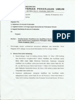 Surat Kepala Badan Pembinaan Konstruksi
