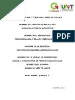Practica 5 Termodinamica