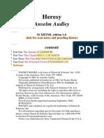Anselm Audley - Heresy