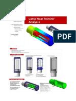 Lamp Heat Transfer Analysis