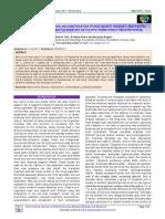 Isolation Characterization and Identification of High Salinity Tolerant