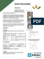 Radiall ARINC 600 (Quadrax)
