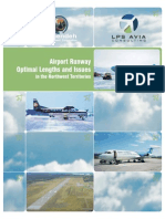Airport Runway Optimal Lengths and Isses in the Northwest Territories
