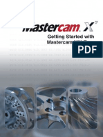 Getting Started With MasterCam X7 Mill-Turn