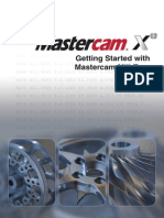 Getting Started With MasterCam X8 Mill-Turn