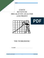 Break Even Workbook
