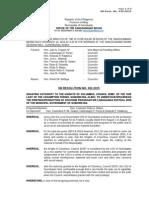032-2015 SB Res. - KofC Souvenir Program