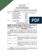 034-2015 SB Res. - Amending (2) Bgy. AIP