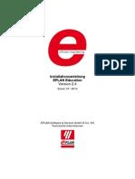 Installationsanleitung EPLAN Education 2.4