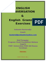 English Conversation, English Grammar Exercises, Common Mistakes, Engllish Comprehension.