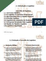 Ustm, Gestão Logistica Qualidade, Tema 1 (Introdução a Logística)