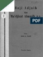 Saleh A. Nahdi. Baji Adjaib Dan Mudjizat Almasih