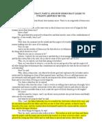 Plato on Democracy Part II and How Democracy Leads to Tirany