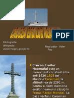 Crucea Eroilor Neamului - Crucea de pe Caraiman 2.62.pps