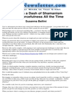 NLP - With a Dash of Shamanism - Susanna Bellini