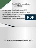 Tema_2_rolul Sirf in Armonizarea Contabilitatii