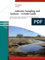 Groundwater Sampling and Analysis – A Field Guide