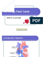 Cardiology Flash Cards (EKG in a Nut Shell)
