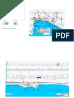 Regiunea-Alanya harta