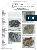Metamorphic Rocks _ Pictures of Foliated and Non-Foliated Types