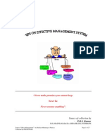 An Effective Office Management System 209