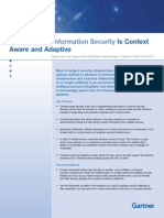 Gartner Reprint- The Future of Information Security is Context Aware and Adaptive (1)