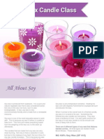 Soy Wax Candle Class