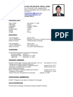 Licensing Officer Resume