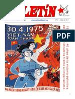 Boletin del Ateneo Paz y Socialismo de abril de 2015