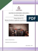 Métodos Geofísicos Empleados en Perforaciones Para Túneles Ricardo González Río
