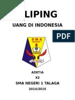 Kliping Uang Di Indonesia