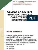 Celula CA Sistem