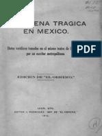 Anónimo, La Decena Trágica en México