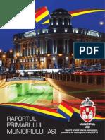 Raportul primarului de Iași Gheorghe Nichita pe anul 2014