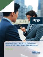 Nokia_Cost-Optimized Transport Evolution - Smarter Solutions for Mobile Operators