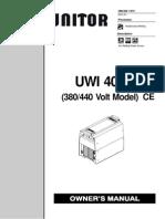 Welding Plant Manual o202137v_uni