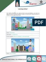 Ingles para principiantes Evidence - Identities PaO