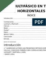 Unidad 3. Flujo Multifásico en Tuberías Horizontales Jovany, Pilar, Eli Isrrael